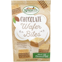 Sprouts Chocolate Wafer Bites