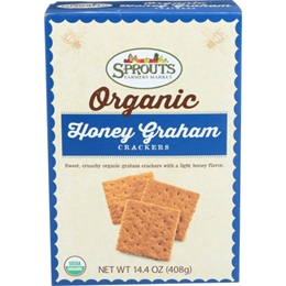 Sprouts Organic Honey Graham Crackers