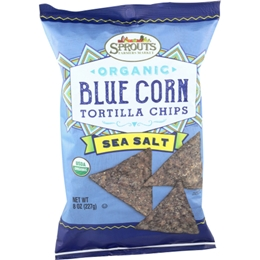Sprouts Organic Sea Salt Blue Corn Tortilla Chips