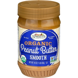 Sprouts Organic Smooth Peanut Butter