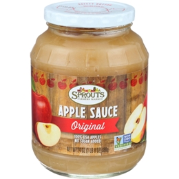 Sprouts Original Apple Sauce