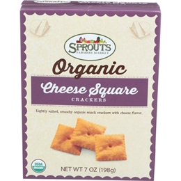 Sprouts Organic Cheese Crackers