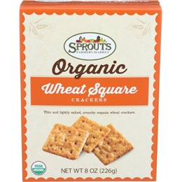 Sprouts Organic Wheat Crisps